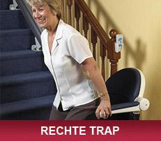 Rechte trap